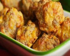Simple And Savory Sausage Cheese Balls