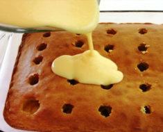 Boston Cream Poke Cake Mix Recipe